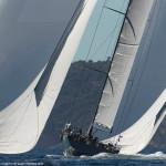 30/09/2013 - Saint-Tropez (FRA,83) -  Les Voiles de Saint-Tropez 2013 - Day 1 - Wally yachts, Hamiltoni, Magic Carpet 3