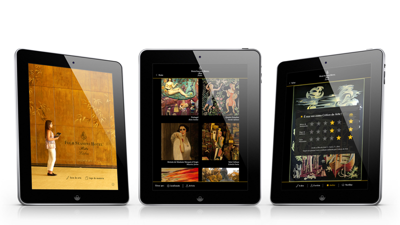Art Appreciation On The Move: Mobile Art App From Four Seasons Hotel Ritz Lisbon