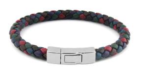 Tateossian Scoubidou Silver Multicolor Bracelet