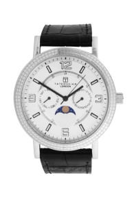 Tateossian Sun & Moon Silver Watch
