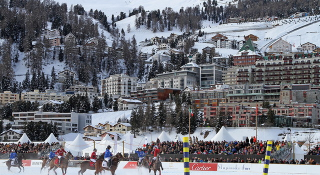 International attention for the Snow Polo World Cup St. Moritz