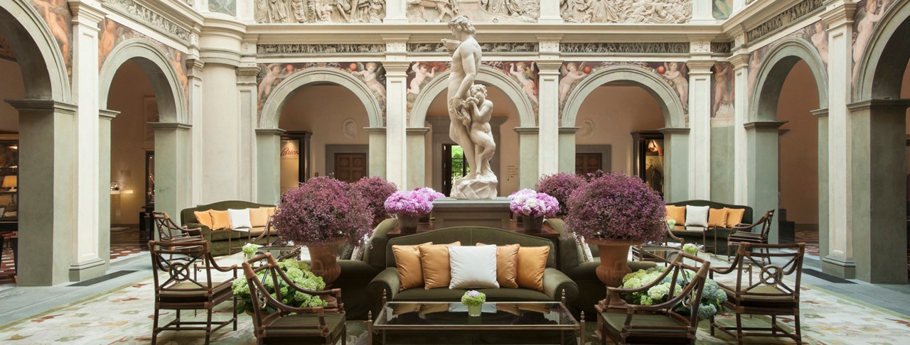 Four seasons hotel firenze carpe diem tv for Design hotel florence italy