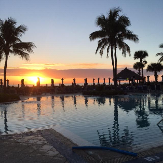 Swimming Pool Beach Club - Ritz Carlton Sarasota