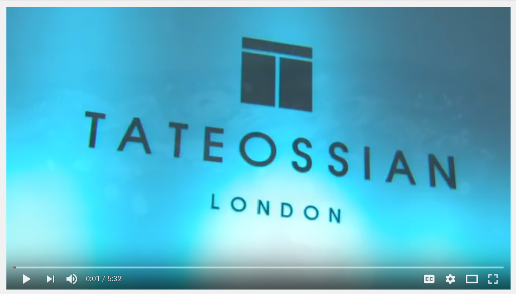 Tateossian - The Brand Video