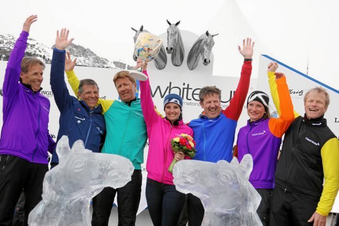 Winner of 2017 White Turf St. Moritz Horse Race