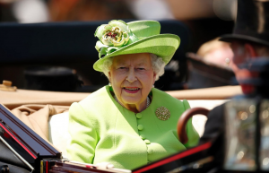 Queen Elizabeth in the Carriage