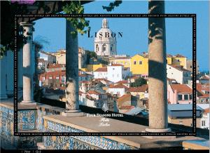The Ritz Four Seasons in Lisbon Portugal