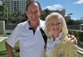 Cliff Drysdale Interview at The New Ritz-Carlton Key Biscayne Annual Charity Tennis Event