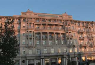 Savoia Excelsior Palace Hotel In Trieste, Italy