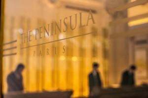 The Peninsula Paris - Door Detail
