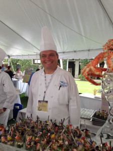 Chef Cook Michael Madsen from Miromar Lakes Beach and Golf Club gave a wonderful presentation.