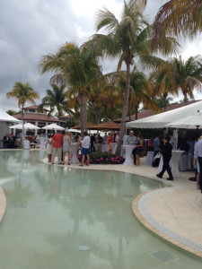 Reception Poolside at the Miromar Lakes Beach and Golf Club