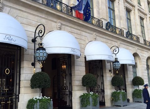 The RITZ Paris is a Hotel in Central Paris, Overlooking the Place Vendome