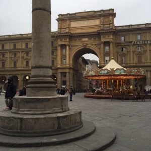 Downtown Florence Italy