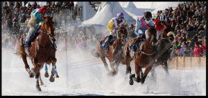 White Turf - St. Moritz Horse Race