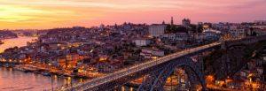 Bridge at Porto Portugal