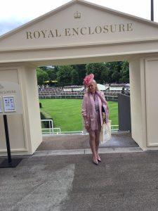 Jantiena at the Royal Ascot 2017